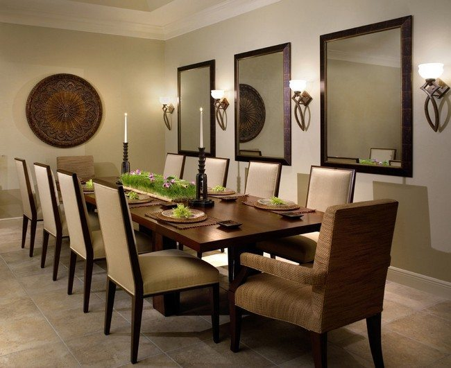 Wall Decor For Dining Room Area: Perfecting Your Interior Design With The Help Of Mirrors