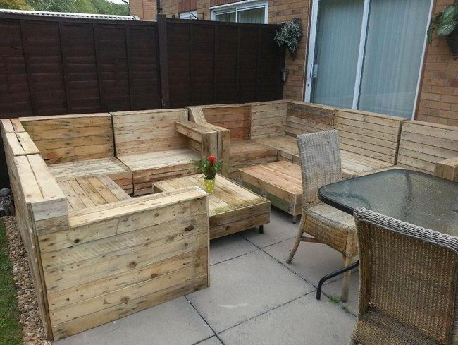 Diy Making Your Own Pallet Patio Furniture Decor Around The World