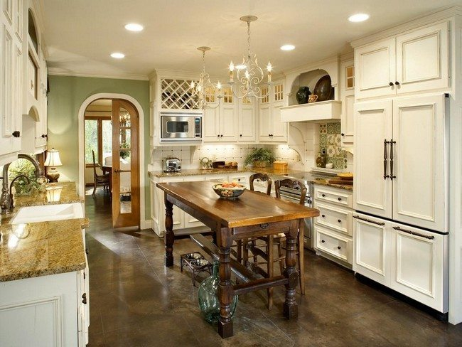 French Country Kitchen Makeover Bonnie Pressley Hgtv For Modern French Country Kitchen Plan