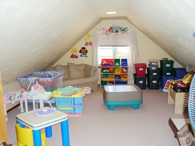 Can You Convert A Attic Into A Child S Room