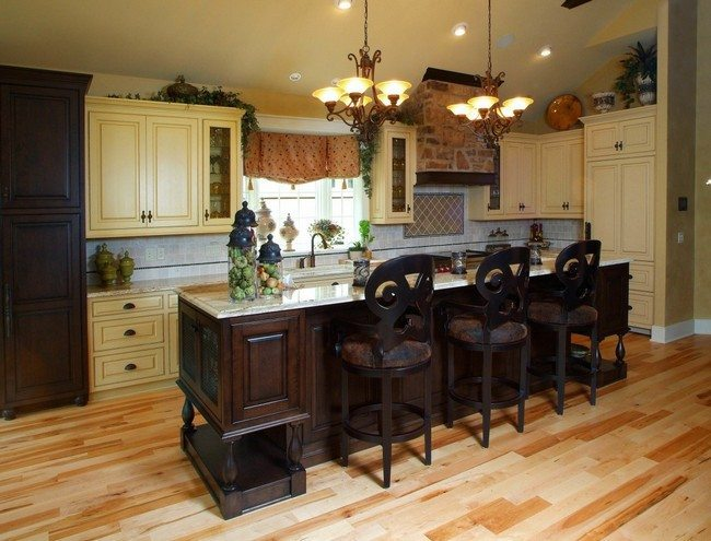 Country Style Kitchen Cabinets Pictures
