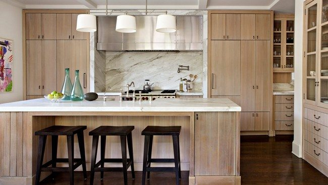 natural-wood-cupboards-french-country-kitchen
