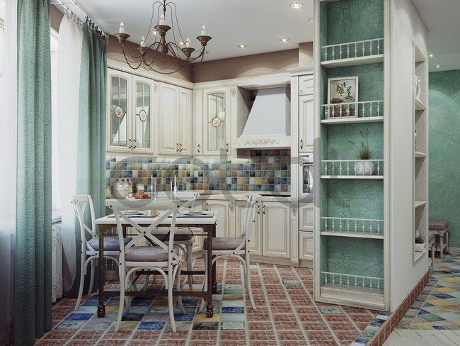 shabby-french-country-kitchen-designs