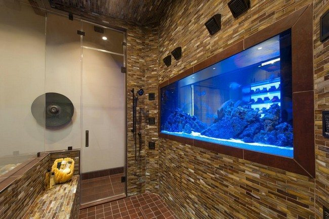 Transform The Way Your Home Looks Using A Fish Tank Decor Around The World