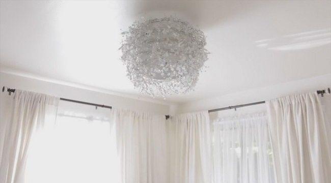 White-themed room