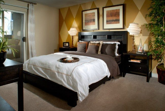 Infuse your bachelor bedroom with style decor around the for Best bedroom designs for men