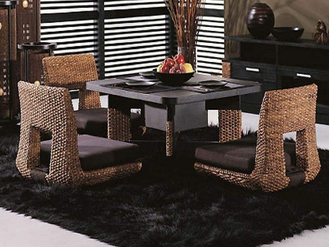 Transform the way you Dine Using Japanese-Style Dining Table - Decor ...