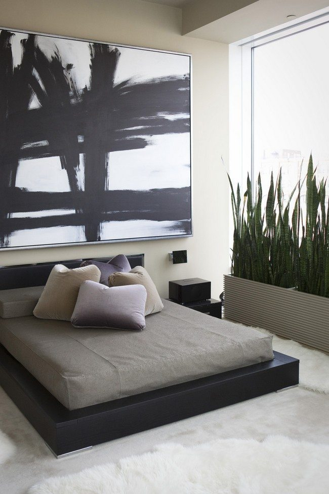 Infuse your bachelor bedroom with style decor around the for Modern bachelor pad ideas