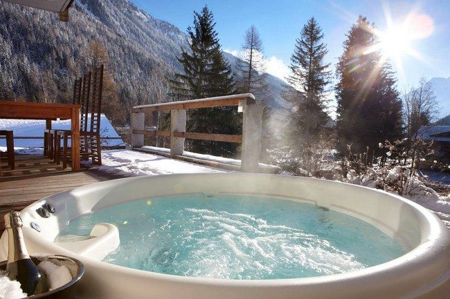 mountain jacuzzi