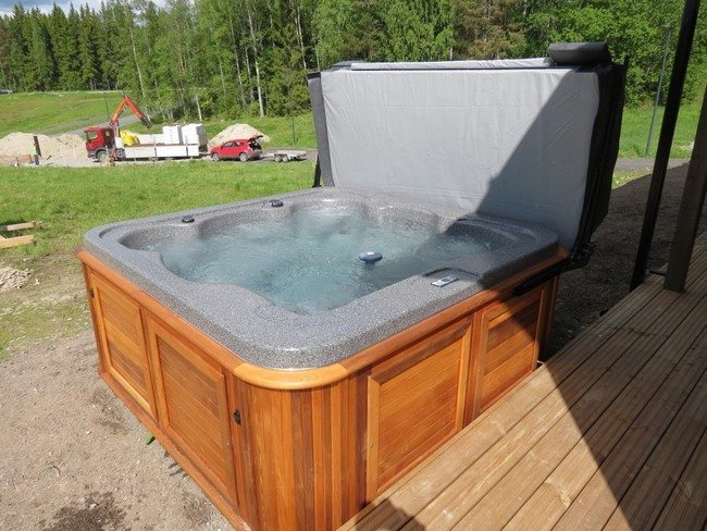 factory made jacuzzi