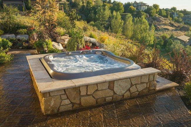 jacuzzi  on the hill