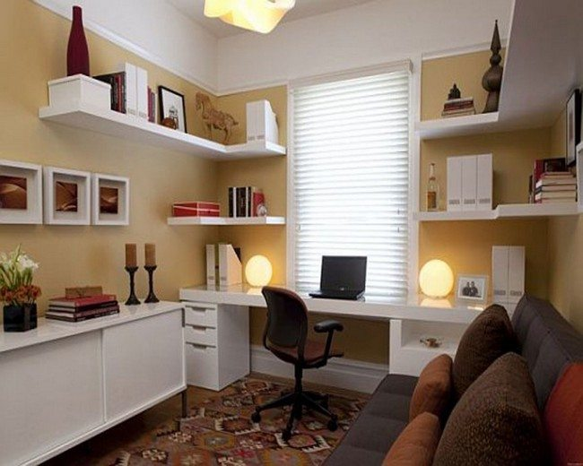 D cor for small home offices decor around the world for Small office ideas design