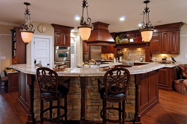 Tips on choosing decor for vintage design decor around Above kitchen counter decorating ideas