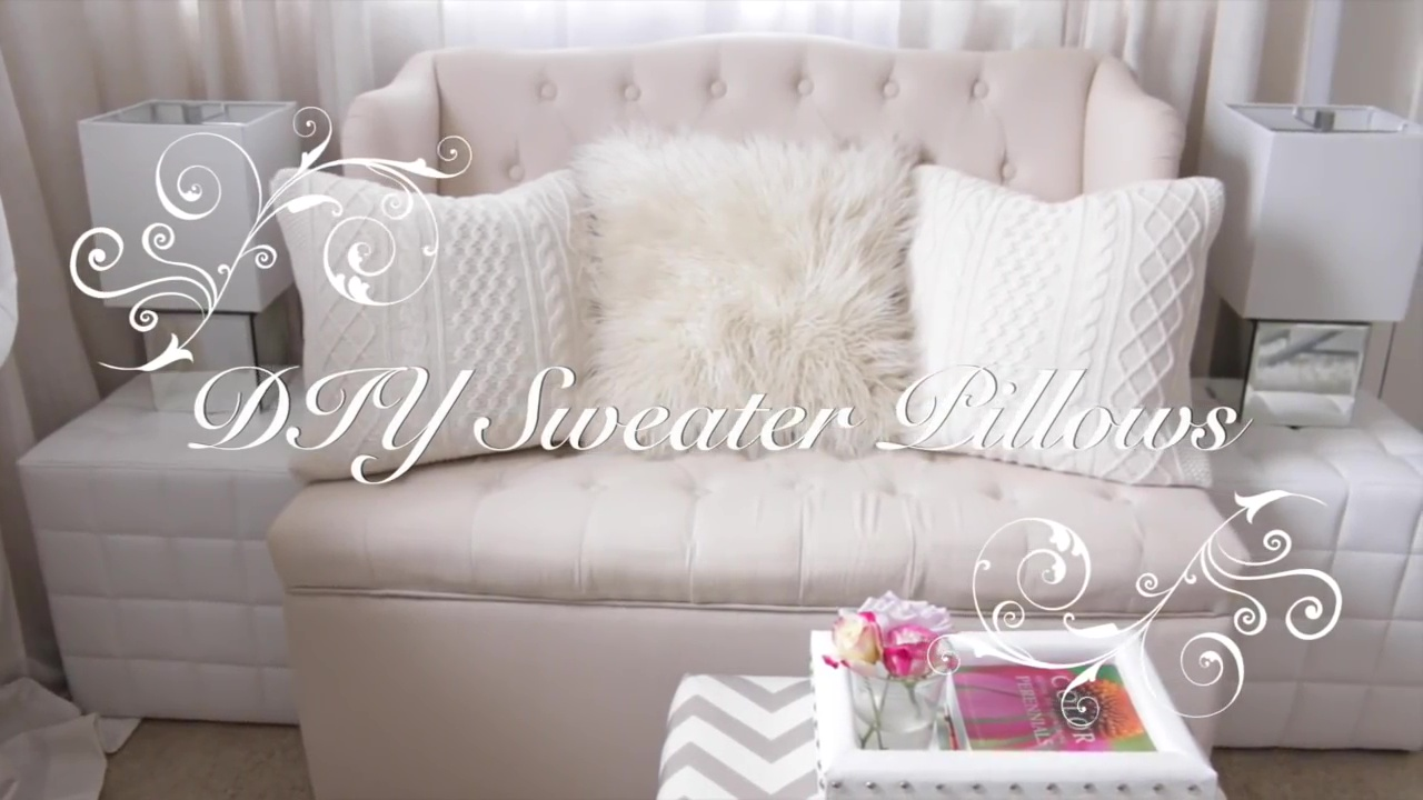 Upholstered white couch