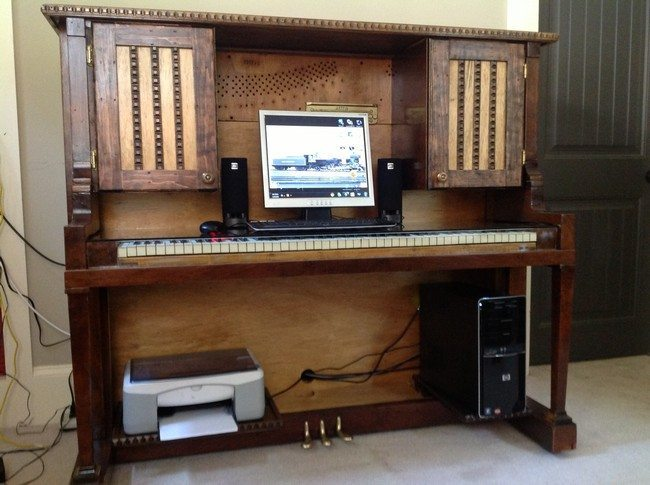Repurposed Piano Ideas You Can Try On Your Own - Decor