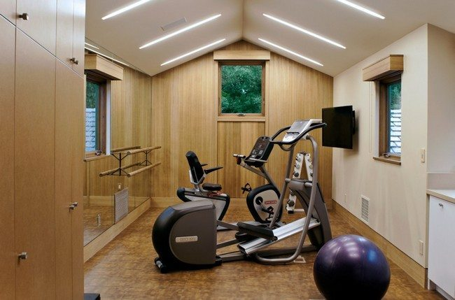 Spice up your home workout sessions through the way you for Small exercise room