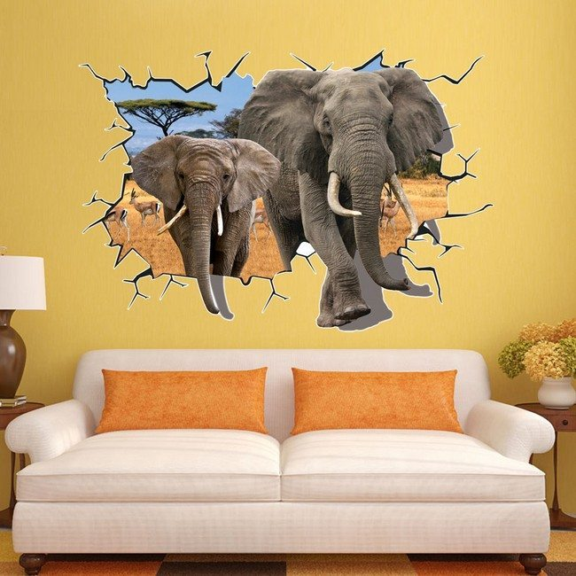 Let your living room stand out with these amazing ideas African elephant home decor