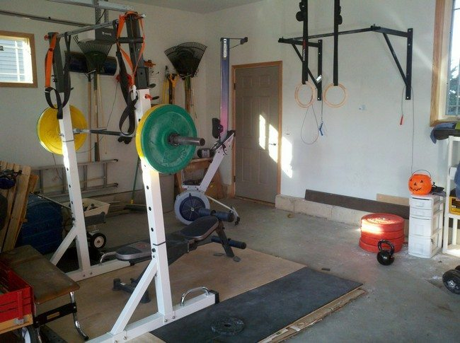 Wide variety of gym equipment