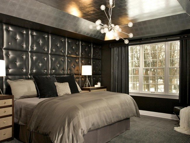 Wooden Wall Decor Bedroom Interior Design