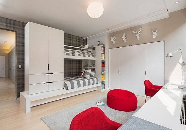 Cool contemporary bunk beds for the trendy modern bedroom