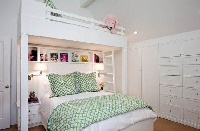 Custom Made Bunk Bed Design For Small Bedroom