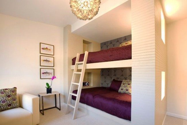 Sophisticated bunk bed design