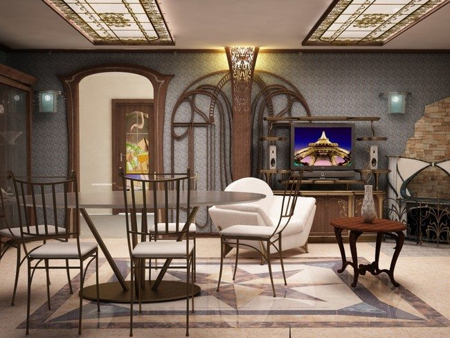 art nouveau living room nouveau interior design ideas you can easily adopt in 15620