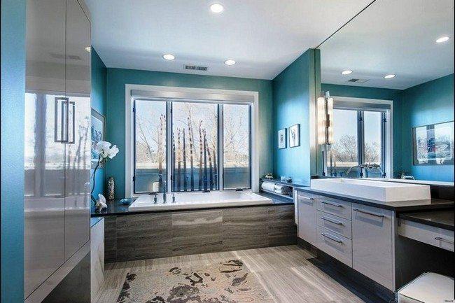 Large, white rectangular sink