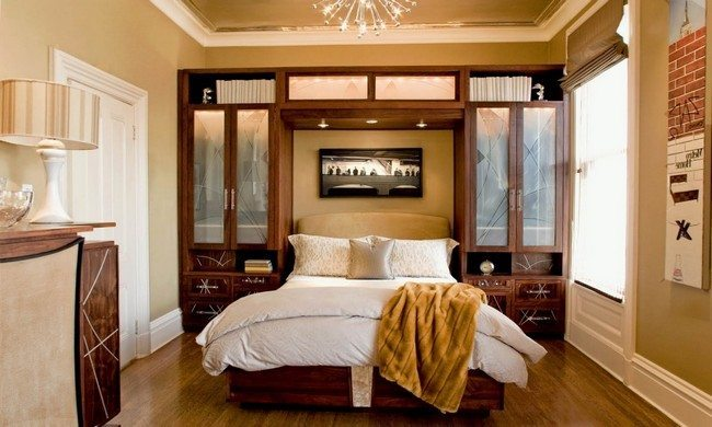 Closets with glass doors. Creative Unusual Bedroom Ideas  Simple Ways to Spice Up Your