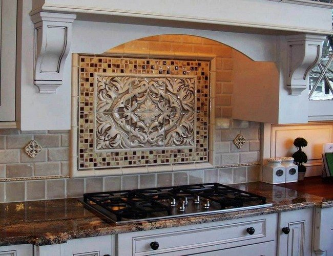 Tile backsplash wallpaper pictures ideas kitchen home designs easy backsplash with red brick Kitchen backsplash design tool