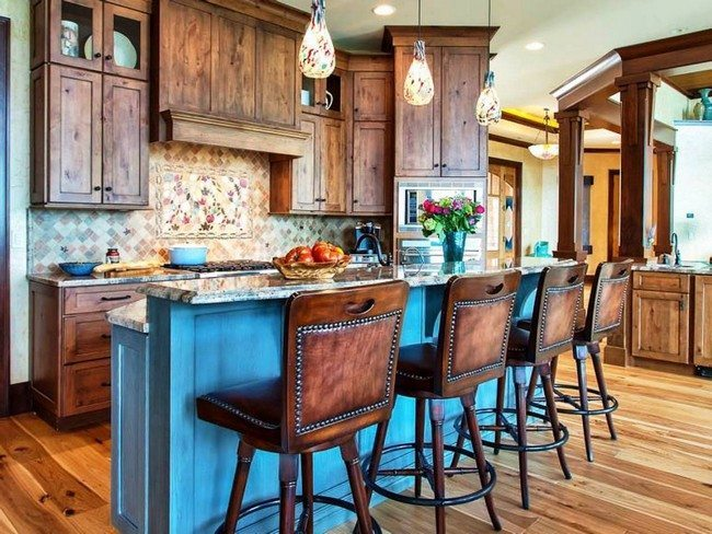 Kitchen Wall And Island Design Ideas ~ Unique kitchen island designs decor around the world