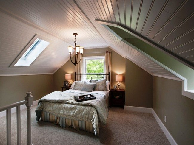 Attic bedroom design and d cor tips decor around the world for Attic bedroom decoration