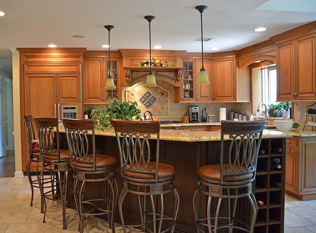 Kitchen Bar Storage Ideas