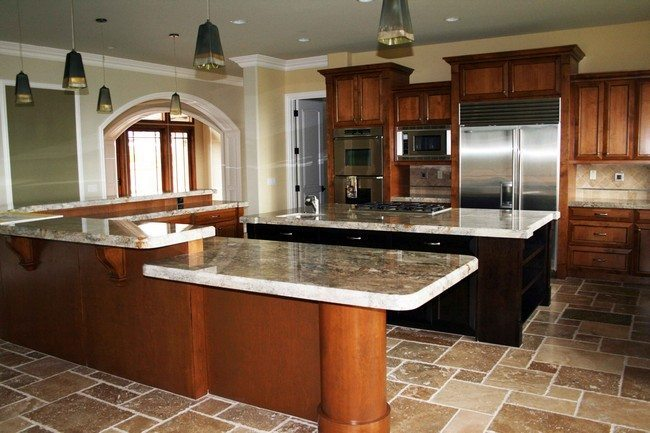 Small modern galley kitchen design Small islands around the world
