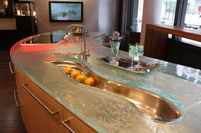 Unique kitchen countertop designs you can adopt decor for Kitchen counter decor