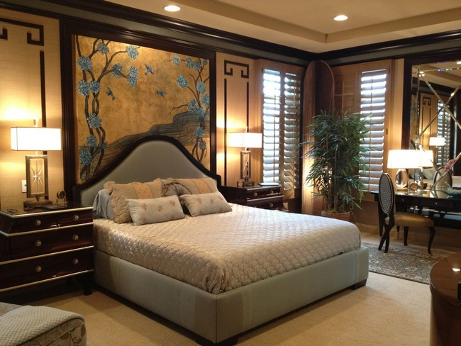 Asian style interior design ideas decor around the world for Designer inspired bedding