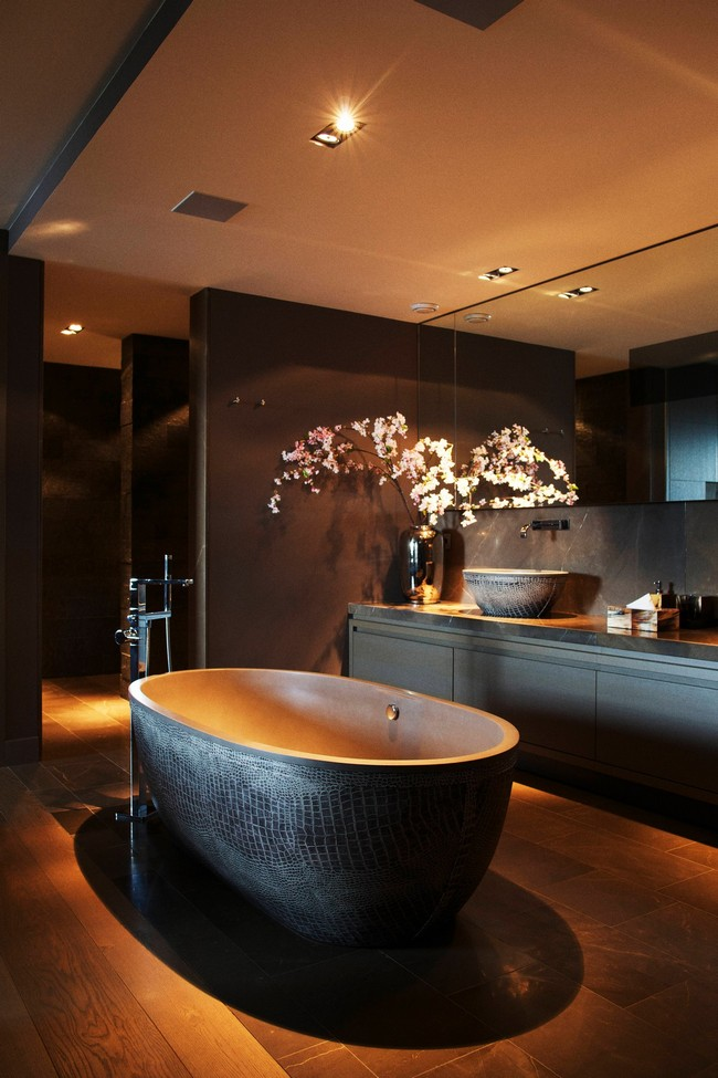 Asian style interior design ideas decor around the world for Asian style bathroom designs