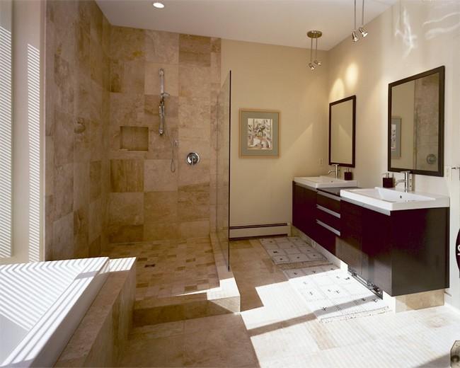 Asian style interior design ideas decor around the world Interior design brown bathroom