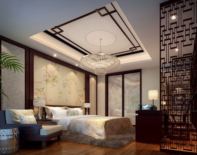 Asian Style Interior Design Ideas Decor Around The World Chinese Bedroom Decorating Themed With