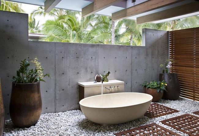 Outdoor Bathroom Designs asian bathroom 5 Transitional Outdoor Extension Bathroom
