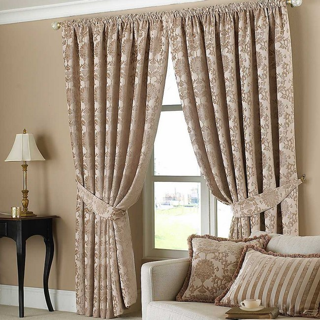 living room curtains spice up your living room design with these ideas decor around the world. Black Bedroom Furniture Sets. Home Design Ideas