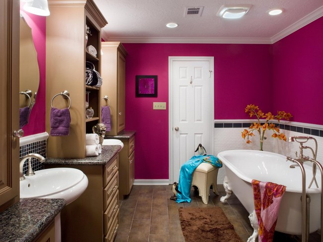 Tips for decorating kids bathrooms decor around the world for Bathroom girls pic
