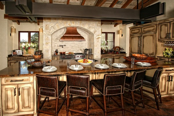 Spanish style kitchen beautiful design ideas you can for Kitchen cabinets in spanish