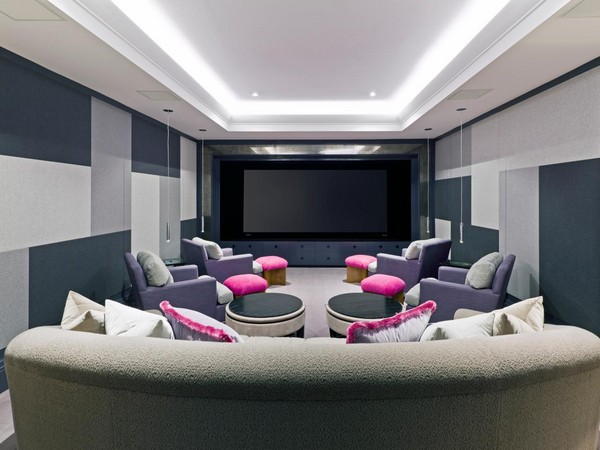 Home theater designs bring extravagance to your home with Theater rooms design ideas
