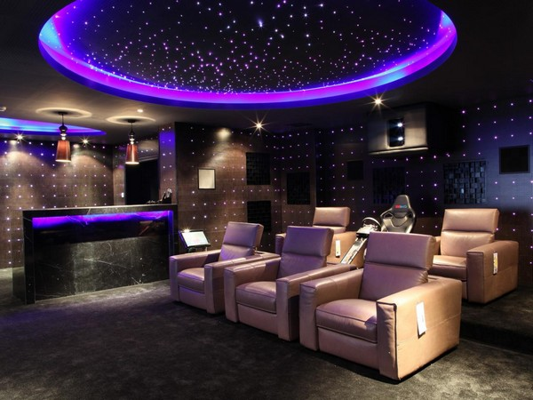 Home theater designs bring extravagance to your home with these extravagant home theater - Diy home theater design idea ...