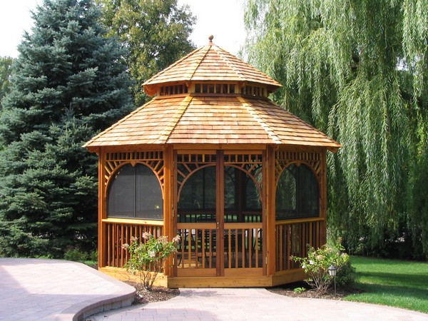 You Can Accessorize Your Gazebo Naturally By Surrounding It With  Well Trimmed Shrubs And Bushes Like In The Picture Above. For An Even  Better And More ...