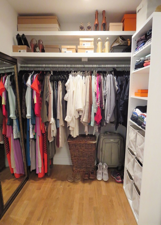 Introducing charm and playfulness in your home with a walk for Cheap walk in closet ideas
