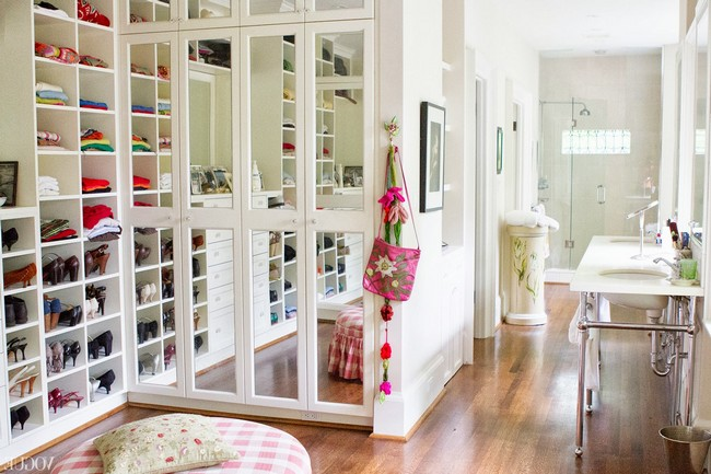 Introducing charm and playfulness in your home with a walk for Adding a walk in closet