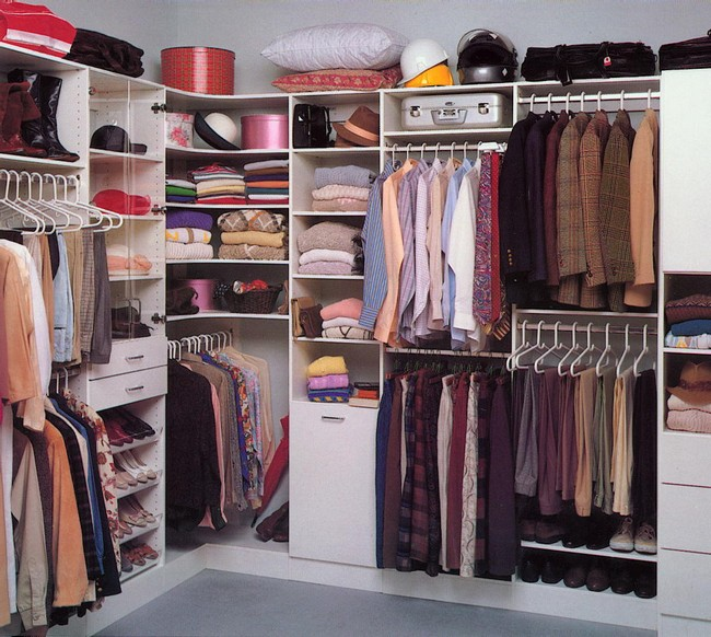 Introducing charm and playfulness in your home with a walk for Female walk in closet