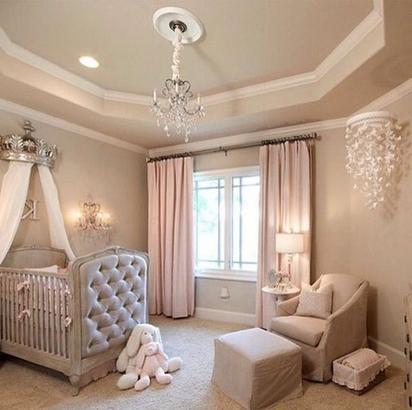 Angel Themed Design For A Baby Girl S Nursery: Baby Girl Room Ideas: Cute And Adorable Nurseries